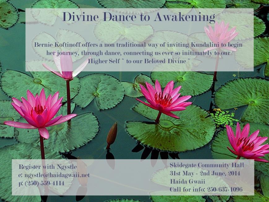 divine dance to awakening
